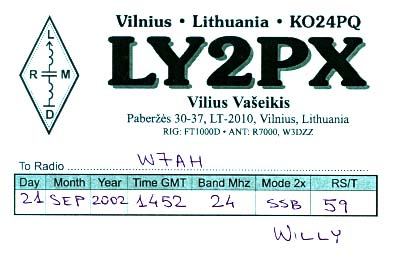 Название: LY2PX-QSL.jpg Просмотров: 2357  Размер: 24.6 Кб