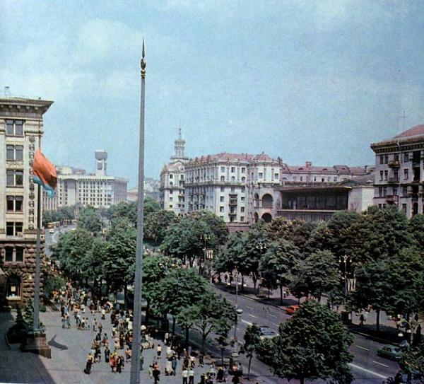 Нажмите на изображение для увеличения.  Название:kreschatik-Kiev-80-e.jpg Просмотров:340 Размер:127.6 Кб ID:119642