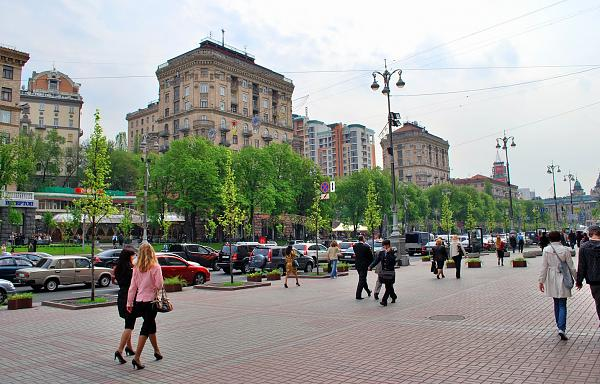Нажмите на изображение для увеличения.  Название:kreschatik-Kiev-sovremennyj.jpg Просмотров:512 Размер:342.4 Кб ID:119643