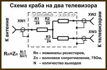 Название: krab_tv_korobka_sxema_rezistori.jpg Просмотров: 2470  Размер: 16.9 Кб