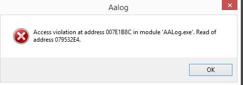 Название: aalog error.PNG Просмотров: 252  Размер: 6.7 Кб
