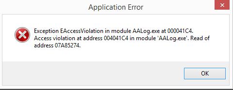 Название: aalog error6.PNG Просмотров: 415  Размер: 8.2 Кб