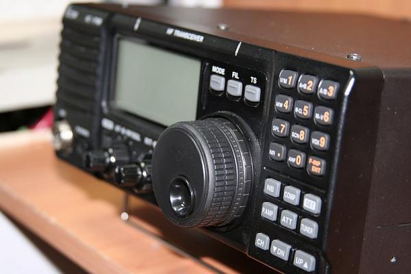 Фотографии трансивера ICOM IC-718