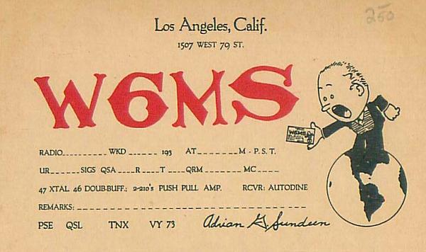 Нажмите на изображение для увеличения.  Название:W6ms old qsl-1937.jpg Просмотров:79 Размер:261.0 Кб ID:152240