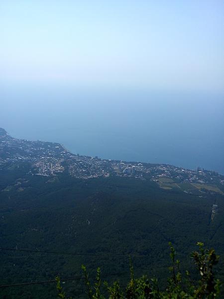 Нажмите на изображение для увеличения.  Название:Виды с горы Ай-Петри.jpg Просмотров:26 Размер:2.10 Мб ID:167297