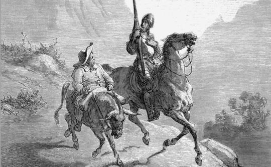 Название: don_quixote Иллюстрация Гюстава Доре к книге Сервантеса «.jpg Просмотров: 1165  Размер: 86.7 Кб