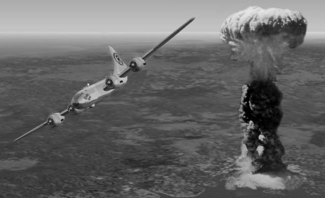 Нажмите на изображение для увеличения.  Название:Hiroshima-bombing-Enola-Gay.jpg Просмотров:636 Размер:87.6 Кб ID:169970