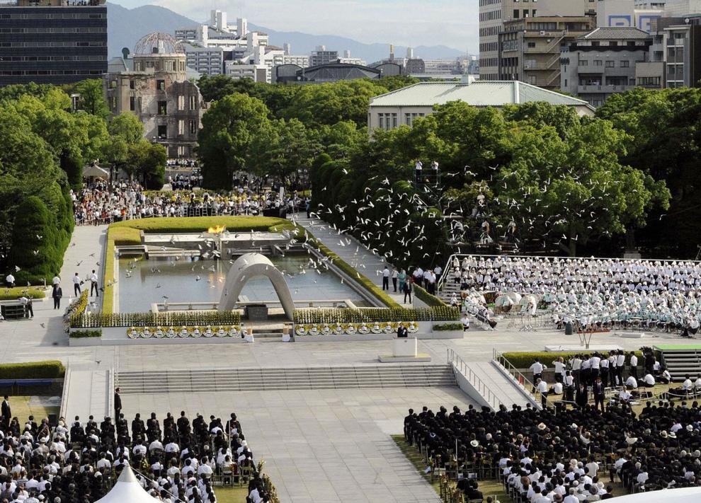 Нажмите на изображение для увеличения.  Название:Hiroshima_6_08_2012 Церемония в &#10.jpg Просмотров:57 Размер:425.3 Кб ID:169986