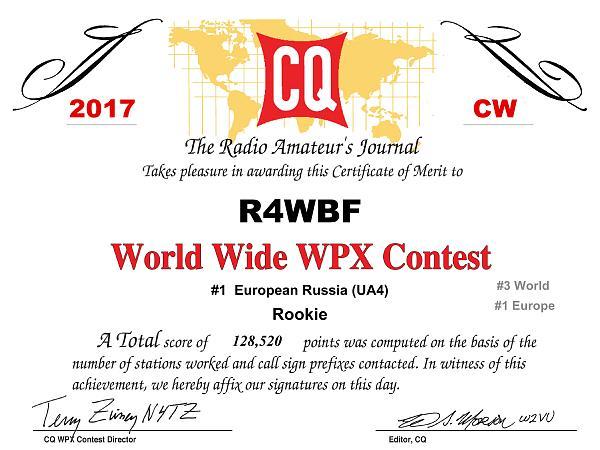 Нажмите на изображение для увеличения.  Название:R4WBF_CQWPX_2017_CW_certificate_1.jpg Просмотров:8 Размер:592.5 Кб ID:198846