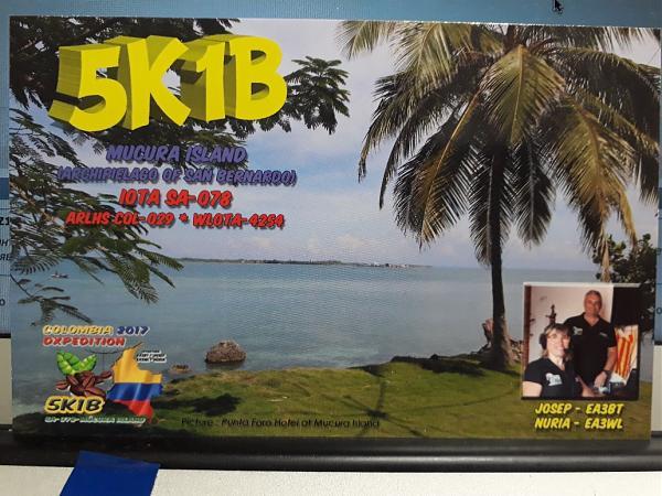 Нажмите на изображение для увеличения.  Название:5K1B QSL.jpg Просмотров:7 Размер:322.6 Кб ID:204291