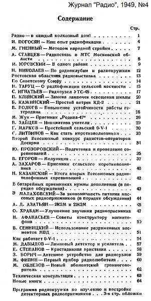 Нажмите на изображение для увеличения.  Название:Оглавление_Радио_1949-04_konstantin.in.jpg Просмотров:10 Размер:907.4 Кб ID:209684