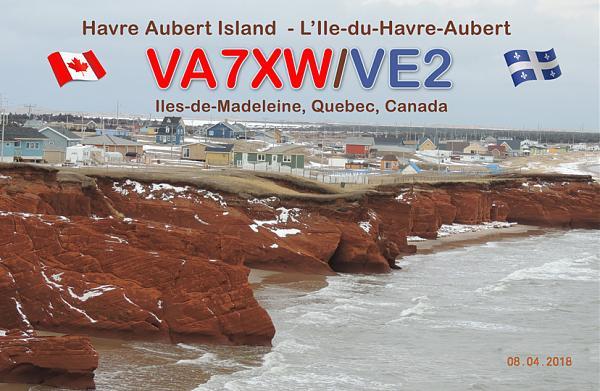 Нажмите на изображение для увеличения.  Название:QSL VA7XW_VE2.jpg Просмотров:57 Размер:226.2 Кб ID:210074