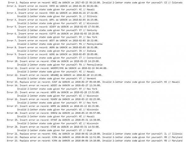 Нажмите на изображение для увеличения.  Название:Ошибки QRZ.com.jpg Просмотров:9 Размер:190.0 Кб ID:211653