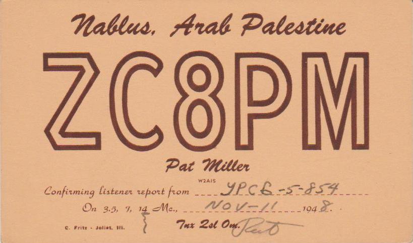 Нажмите на изображение для увеличения.  Название:ZC8PM-QSL-to-URSB-5-854-1948.jpg Просмотров:5 Размер:48.3 Кб ID:219280