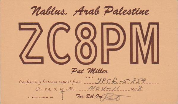Нажмите на изображение для увеличения.  Название:ZC8PM-QSL-to-URSB-5-854-1948.jpg Просмотров:10 Размер:48.3 Кб ID:219280
