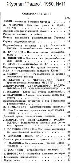 Название: Zhurnal-Radio-1950-11-Oglavlenie.jpg Просмотров: 218  Размер: 81.2 Кб