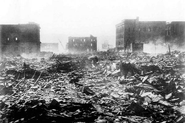 Нажмите на изображение для увеличения.  Название:Хиросима 7 августа 1945.jpg Просмотров:1 Размер:74.8 Кб ID:237976