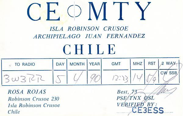Нажмите на изображение для увеличения.  Название:CE0MTY QSL to 3W3RR 1990 Robinson Crusoe island.jpg Просмотров:0 Размер:301.8 Кб ID:252853