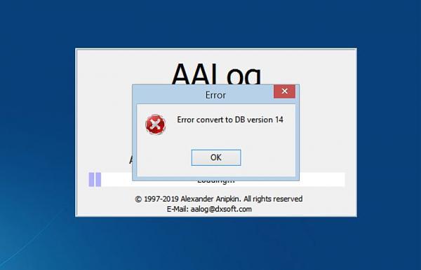 Нажмите на изображение для увеличения.  Название:AAlog_DB_error.jpg Просмотров:2 Размер:22.0 Кб ID:253022