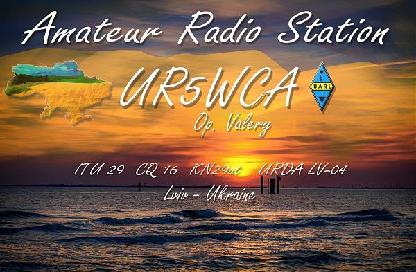 Нажмите на изображение для увеличения.  Название:UR5WCA_new_qsl_card.jpg Просмотров:1 Размер:334.8 Кб ID:253808