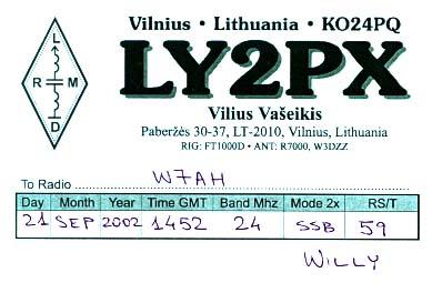 Название: LY2PX-QSL.jpg Просмотров: 695  Размер: 24.6 Кб