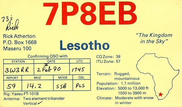 Нажмите на изображение для увеличения.  Название:7P8EB-QSL-3W3RR-1990.jpg Просмотров:4 Размер:417.5 Кб ID:254104