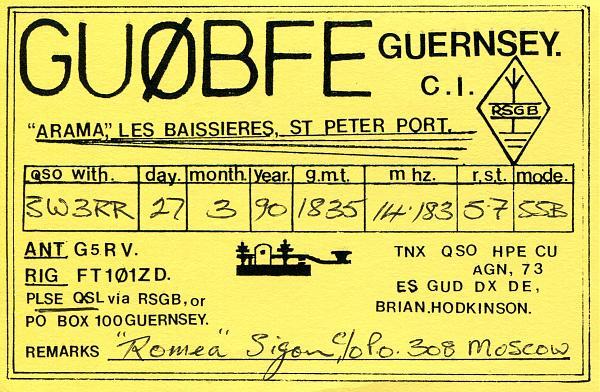 Нажмите на изображение для увеличения.  Название:GU0BFE-QSL-3W3RR-1990.jpg Просмотров:0 Размер:609.7 Кб ID:254115