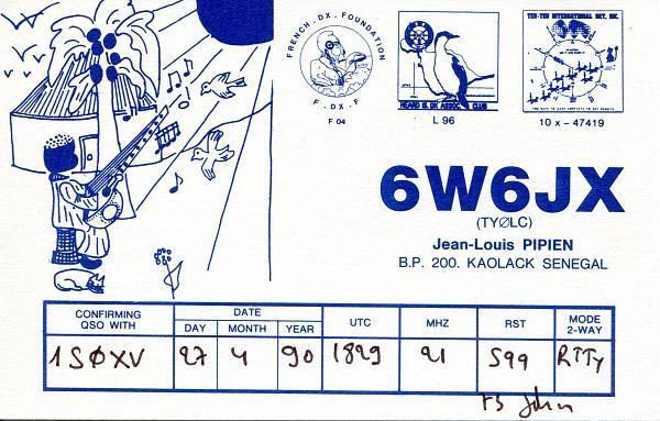 Нажмите на изображение для увеличения.  Название:6W6JX-QSL-1S0XV-1990-min.jpg Просмотров:7 Размер:570.1 Кб ID:254118