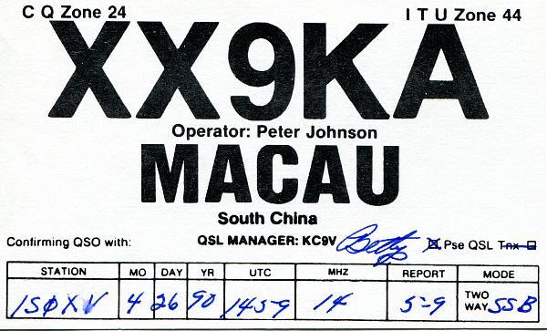 Нажмите на изображение для увеличения.  Название:XX9KA-QSL-1S0XV-1990.jpg Просмотров:1 Размер:564.2 Кб ID:254127