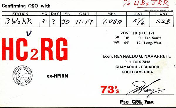 Нажмите на изображение для увеличения.  Название:HC2RG-QSL-3W3RR-1990-1.jpg Просмотров:5 Размер:393.8 Кб ID:254142