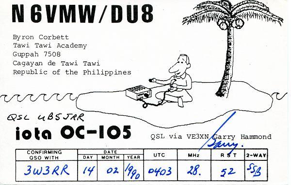 Нажмите на изображение для увеличения.  Название:N6VMW-DU8-QSL-3W3RR-1990.jpg Просмотров:5 Размер:399.9 Кб ID:254149