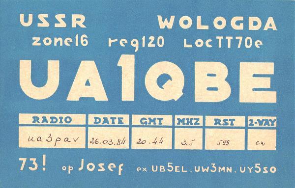 Нажмите на изображение для увеличения.  Название:UA1QBE-UA3PAV-1984-qsl.jpg Просмотров:3 Размер:656.5 Кб ID:254954