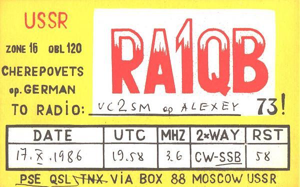 Нажмите на изображение для увеличения.  Название:RA1QB-UC2SM-1986-qsl.jpg Просмотров:1 Размер:489.7 Кб ID:254966