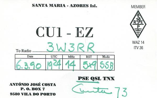 Нажмите на изображение для увеличения.  Название:CU1EZ-QSL-3W3RR.jpg Просмотров:0 Размер:530.9 Кб ID:255114