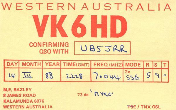 Нажмите на изображение для увеличения.  Название:VK6HD-QSL-UB5JRR.jpg Просмотров:0 Размер:807.7 Кб ID:255145
