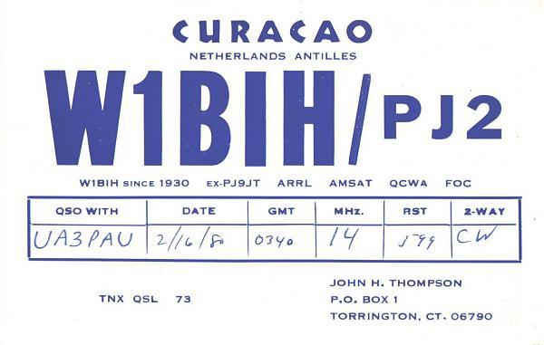 Нажмите на изображение для увеличения.  Название:W1BIH_PJ2-UA3PAU-1980-qsl.jpg Просмотров:2 Размер:668.9 Кб ID:259880