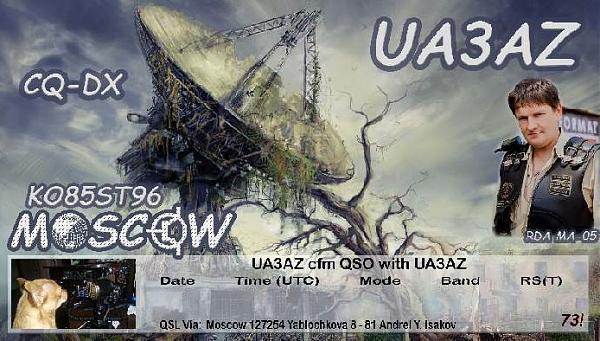 Нажмите на изображение для увеличения.  Название:UA3AZ at QUARANTINE.jpg Просмотров:3 Размер:114.9 Кб ID:261082