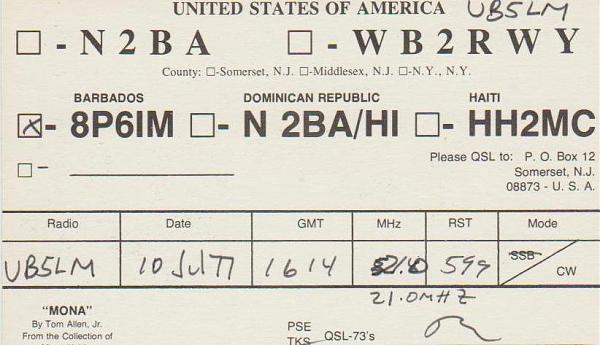 Нажмите на изображение для увеличения.  Название:8P6IM-QSL-UB5LM.jpg Просмотров:3 Размер:189.8 Кб ID:262445