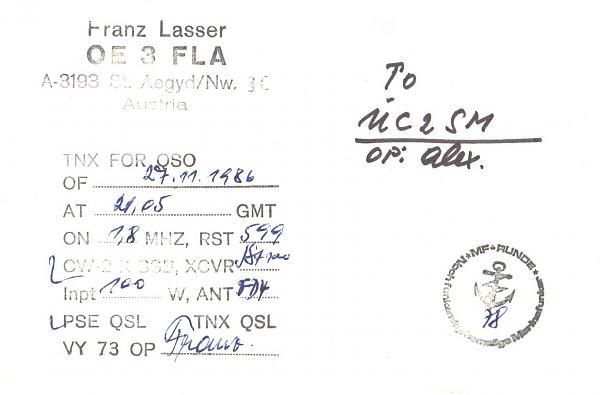Нажмите на изображение для увеличения.  Название:OE3FLA-UC2SM-1986-qsl-2s.jpg Просмотров:2 Размер:488.5 Кб ID:262489