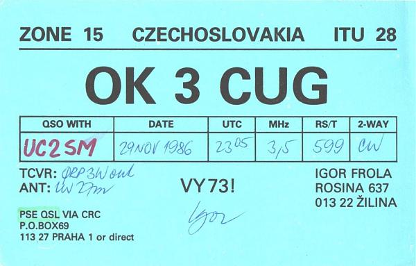 Нажмите на изображение для увеличения.  Название:OK3CUG-UC2SM-1986-qsl.jpg Просмотров:2 Размер:1.02 Мб ID:262791