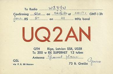 Название: Uq2An-Riga-Latvian-Ssr-Ussr-Amateur-W8JJW.jpg Просмотров: 444  Размер: 85.3 Кб