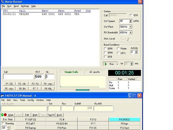 Нажмите на изображение для увеличения.  Название:N1MM-MorseRunner.jpg Просмотров:145 Размер:81.5 Кб ID:26546