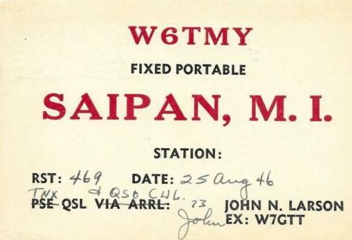 Название: 1946-W6TMY-Saipan.jpg Просмотров: 345  Размер: 113.7 Кб