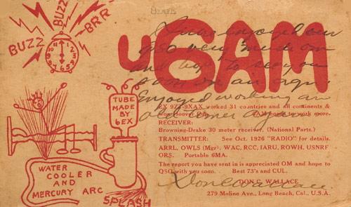 Название: U6AM-Don-Wallace-1927.jpg Просмотров: 133  Размер: 133.6 Кб