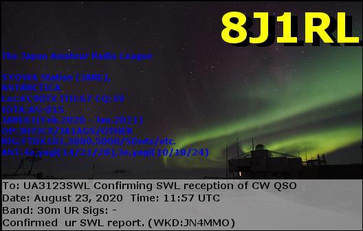 Название: eQSL  de 8J1RL.jpg Просмотров: 406  Размер: 66.6 Кб
