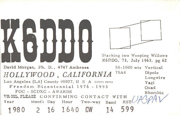 Нажмите на изображение для увеличения.  Название:K6DDO-UA3PAV-1980-qsl.jpg Просмотров:2 Размер:296.7 Кб ID:277833