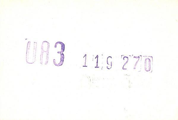 Нажмите на изображение для увеличения.  Название:UA3-119-270-to-UA3PAV-1982-qsl-1s.jpg Просмотров:2 Размер:114.0 Кб ID:279983