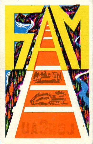 Нажмите на изображение для увеличения.  Название:UA3RGJ QSL RA9CTW 1982.jpg Просмотров:2 Размер:77.4 Кб ID:280151