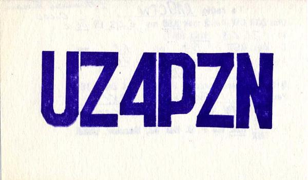 Нажмите на изображение для увеличения.  Название:UZ4PZN QSL RA9CTW 1986.jpg Просмотров:5 Размер:106.6 Кб ID:283192