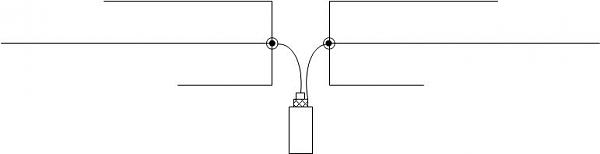 Нажмите на изображение для увеличения.  Название:Запитка антенны OB 3-16.jpg Просмотров:6 Размер:8.0 Кб ID:283746